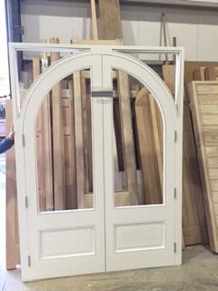 Doorframe Being Built