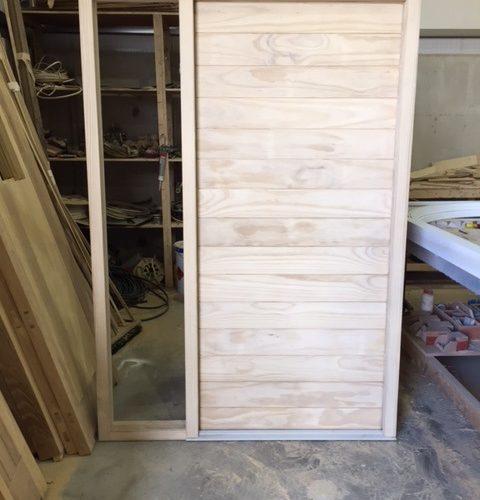 Custom Wooden Front Door - Dublin