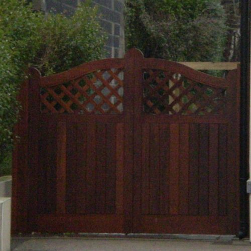 Custom Wooden Gates Dublin