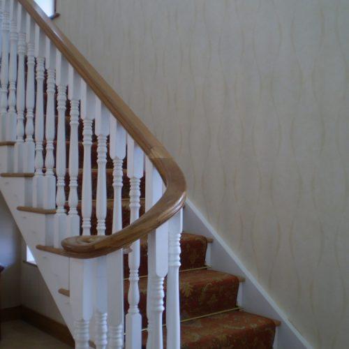 Wooden Staircase Dublin
