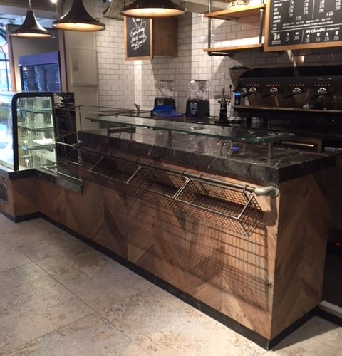 Custom Joinery for a Cafe