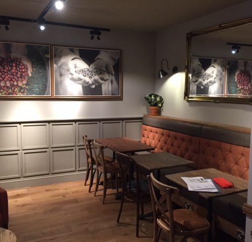 Joinery Work in a Restaurant