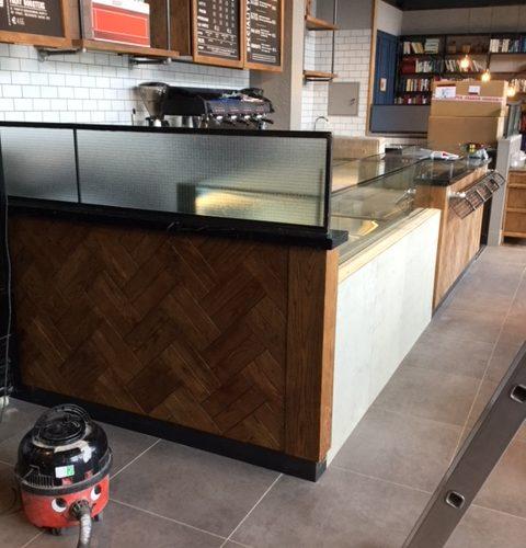 Purpose Built Coffee Shop Counter