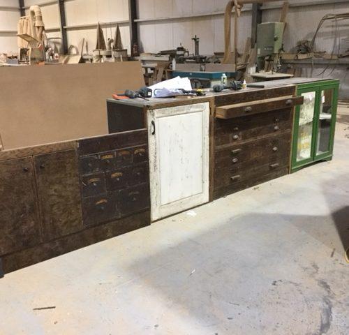 Wooden Kitchen Units