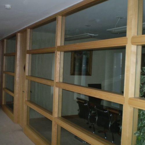 Screen Door in an office