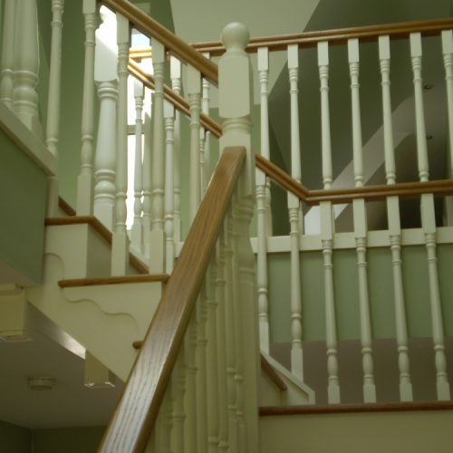 Wooden Stairs and Bannisters Dublin