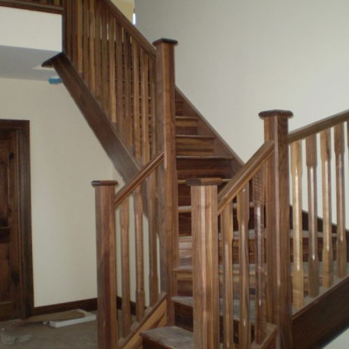 Custom Fitted Wooden Stairs