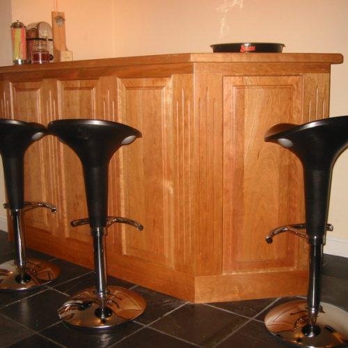 Wooden Home Bar