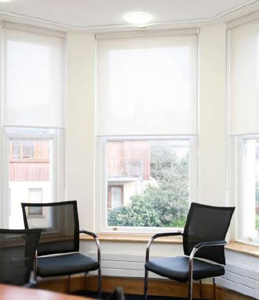 Wooden Windowsill in a Dublin Office